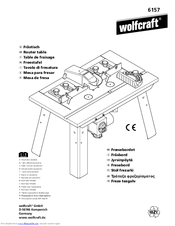 Wolfcraft router table 6157 manuals manuals and user guides for wolfcraft router table 6157 we have 1 wolfcraft router table 6157 manual available for free pdf download assembly instructions greentooth Choice Image
