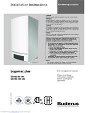 buderus logamax plus gb162 100 kw manuals rh manualslib com manuel buderus logamax u052 buderus logamax u124 manual