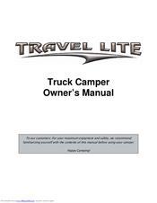 Travel Lite 700 Sport Manuals