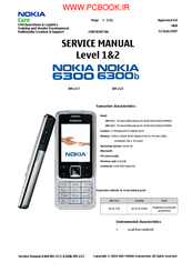 nokia 6300 rm 217 manuals rh manualslib com Nokia User Guide Manual iPhone Manual