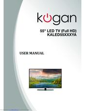 kogan kaled55 series manuals rh manualslib com Owner's Manual kogan agora smart tv user manual