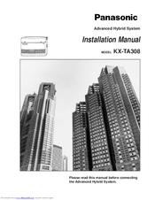 Kx-ta308 user manual.
