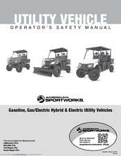 AMERICAN SPORTWORKS LANDMASTER OPERATOR'S SAFETY AND SERVICE MANUAL