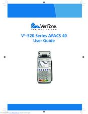 VERIFONE VX-520 SERIES APACS 40 USER MANUAL Pdf Download