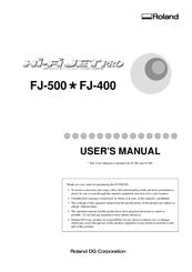 Roland FJ-500 Manuals