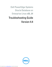 Dell PowerEdge Troubleshooting Manual