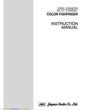 JRC JFV-700HP Instruction Manual