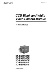 Sony XC-EI30CE Technical Manual