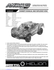 Helion rc Hlna0020 Animus Spur Gear Set