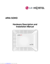 LG Aria-SOHO Hardware Description And Installation Manual