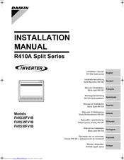 Daikin Fvxs35fv1b Manuals