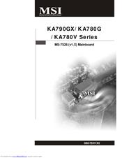 DRIVERS UPDATE: MSI KA780G AUDIO