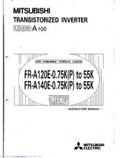 mitsubishi electric freqrol a100 manuals rh manualslib com User Manual Template Pinterest User Manual Guide