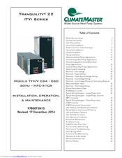 climatemaster thermostat atp21u01 user manual