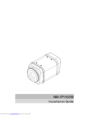 Mitsubishi Electric NM-IP1100M Installation Manual