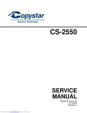 COPYSTAR CS-2550 SERVICE MANUAL Pdf Download