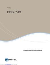 mitel 5000 db programming manual