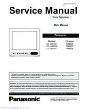 panasonic ct13r17b 13 color tv manuals rh manualslib com Panasonic Remote Programming Manual Panasonic Remote Programming Manual