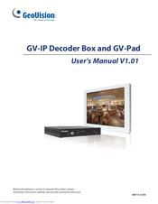 GEOVISION GV-IP DECODER BOX USER MANUAL Pdf Download
