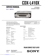 mazda 5 cd player wiring diagram sony compact cd player wiring diagram sony cdx-l410x - fm/am compact disc player manuals