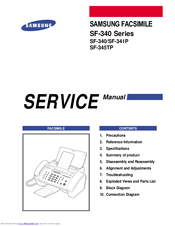 samsung facsimile sf 555p service repair manual