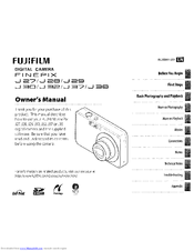 Fujifilm FINEPIX J37 Manuals