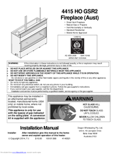 Travis Industries 4415 HO GSR2 Manuals