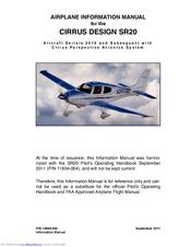 cirrus sr20 manuals rh manualslib com cirrus sr20 service manual Cirrus SR20 Aircraft