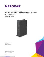 NETGEAR C6300 USER MANUAL Pdf Download