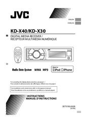 [FPWZ_2684]  Jvc KD-X40 Manuals | ManualsLib | Jvc Kd X40 Wiring Diagram |  | ManualsLib