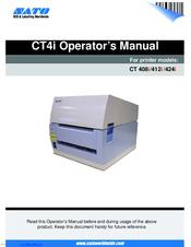 sato ct 412i manuals rh manualslib com Online User Guide Online User Guide