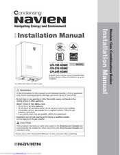 NAVIEN CH-180 ASME INSTALLATION MANUAL Pdf Download. on