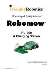 friendly robotics robomow rl1000 operating safety manual pdf download