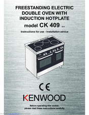 Kenwood CK 409 Instructions For Use - Installation Advice