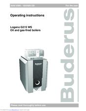 g225 buderus инструкция
