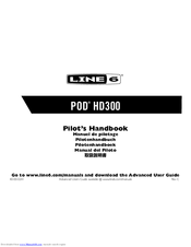 line 6 pod hd300 manuals rh manualslib com line 6 helix owner's manual line 6 helix lt owners manual