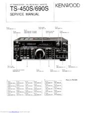 Kenwood TS-450S Manuals