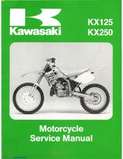 2003 2005 kawasaki kx125 kx250 2stroke motorcycle repair pdf