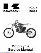 kawasaki kx250 2000 service manual