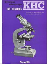 olympus khc manuals rh manualslib com olympus cx41 microscope manual olympus bh2 microscope manual