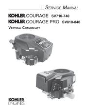 KOHLER COURAGE SV710-740 SERVICE MANUAL Pdf Download