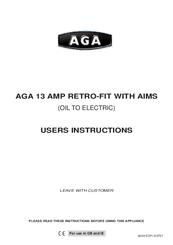 aga 13 amp retro fit with aims manuals rh manualslib com aga aims user manual Manual Lifting