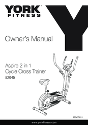 York Fitness 52044 Owner's Manual