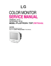 driver monitor flatron 775ft lg