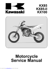 Kawasaki KX100 - Manuals on