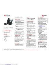 polycom soundpoint ip 335 manuals rh manualslib com Polycom Conference Phone polycom ip 335 quick user guide
