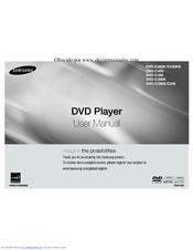 samsung dvd c360 manuals rh manualslib com samsung dvd d360k user manual samsung dvd-hr750 instruction manual