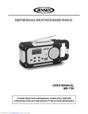 jensen mr 750 manuals rh manualslib com Jensen Marine Radio Troubleshooting Jensen Marine Radio Troubleshooting