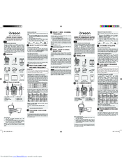 oregon scientific wr113 manuals rh manualslib com Oregon Scientific Indoor Outdoor Thermometer Manual Oregon Scientific Wrist