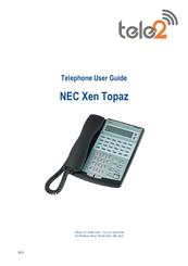 tele2 nec xen topaz manuals rh manualslib com nec topaz voicemail user guide Example User Guide